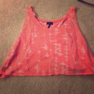 Nollie tie dye crop top